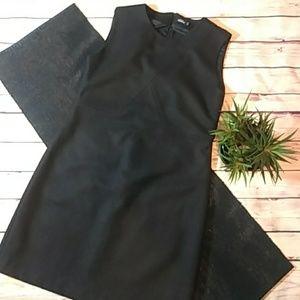 Kate Spade Saturday Black Dress Wool Blend